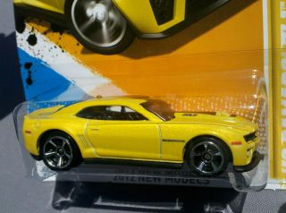 2012 Hot Wheels Camaro Yellow ZL1 KROGER *Limited Edition* More Than 1