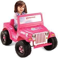 Fisher Price Power Wheels Barbie Jeep