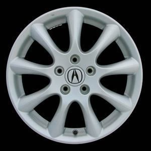 06 07 08 Acura TSX 17x7 Factory 9 Spoke Silver Wheel Rim 71750