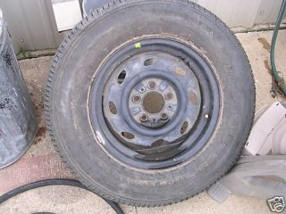 Ford F150 Spare Tire Steel Wheel Rim