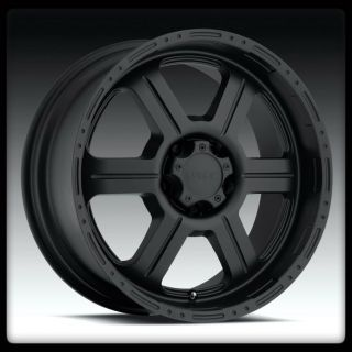 TEC OFFROAD 18 INCH 326 MATTE BLACK RIMS 18X9 EXPEDITION F150 WHEELS