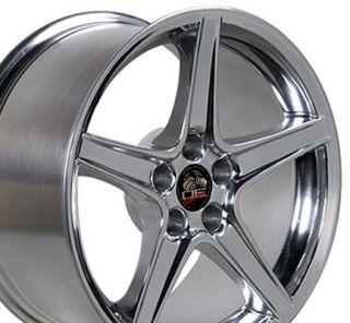 18 Rim Fits Mustang® Saleen Wheel Polished 18x9