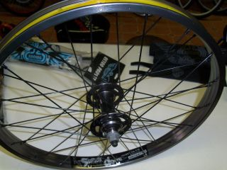 SE racing Rim Wheel set Sealed Hubs Alex Supra Dome RIPPER Quadangle