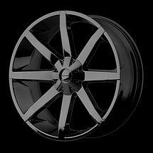 26 KMC Slide Rims Wheels Gloss Black 26x10 28 6x139 7