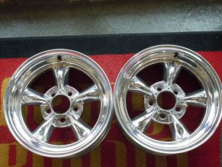 14 American Racing Torq Thrust II Wheels w/ Center Caps and Lug Nuts