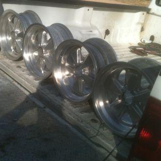 Original Porsche Fuchs Cookie Cutter Wheel Rims 7JX15 8JX15 911