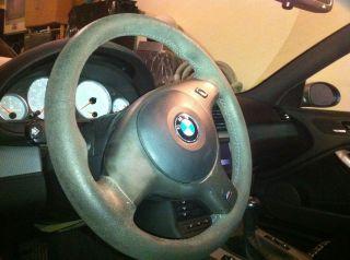 BMW Alcantara Steering Wheel E46 M3 CSL ZCP