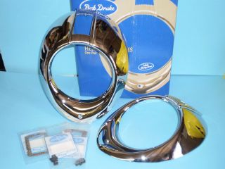 1940 Ford Deluxe Headlight Rims Related Parts