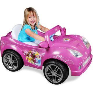 New Disney Princess Girls Convertible Car Ride On Electric battery