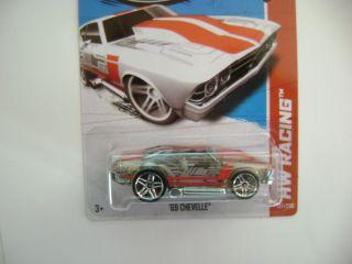 Hot Wheels 2013 69 Chevelle HW Racing E Case 137 250
