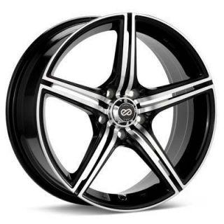 Enkei STR5 17x7 Performance Wheel Wheels 5x114 3 ET42 Black Machined