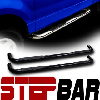 TUBE SIDE STEP NERF BARS rail running board 01 12 SILVERADO SIERRA