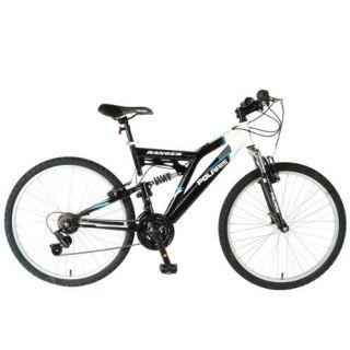 Ranger Mens Dual Suspension Mountain Bike 26 inch Wheels Free