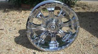 18 Inch 18x8 5 8 Lug CHROME RIMS 8x6 5 Wheels Chevy Silverado Sierra