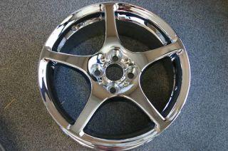 Chrome Toyota MR2 Wheels Rims Part s 69438 69439