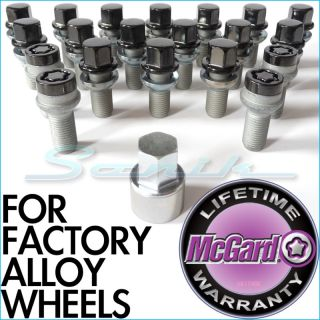 Mcgard Mercedes Premium Black Wheel Locks Lug Bolts