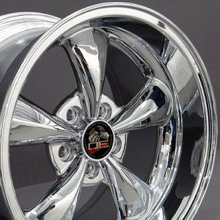 17 Rim Fits Mustang® Bullitt Wheel Chrome 17x10 5