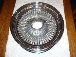 Dayton 100 Spoke Wire Wheel Rims Lowrider 15 x 6 Rod 4