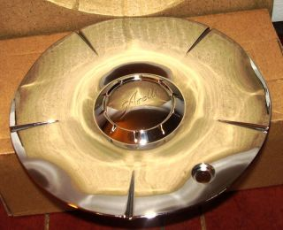 Arelli Wheels Chrome Custom Wheel Center Cap 155 100C 1