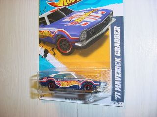 Hot Wheels 2012 Super Treasure Hunt 71 Maverick Grabber Collector 179