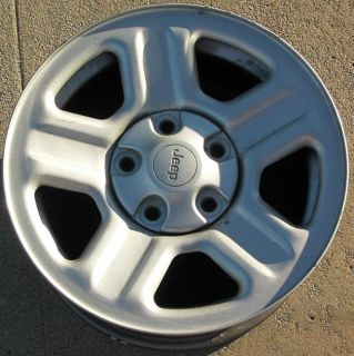 16 Jeep Wrangler Steel Wheel
