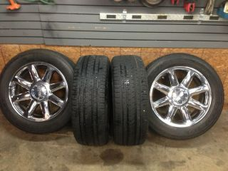 2009 Yukon Denali 20 Wheels and Tires