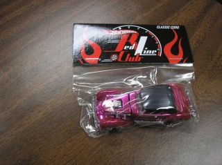 Hot Wheels Red Line Club Classic Cord Unopened