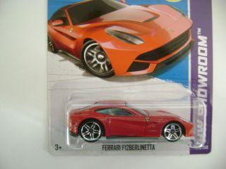 Hot Wheels 2013 Red Ferrari F12 Berlinetta HW Showroom E Case 174 250