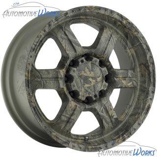 17x8 5 V Tec Offroad 8x170 10mm Camo Wheels Rims inch 17