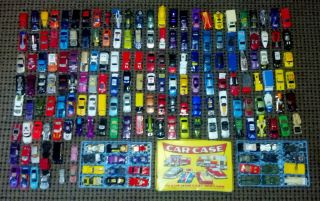 Huge Lot Of 180+ Die cast Cars Hot Wheels Maistro Matchbox vintage
