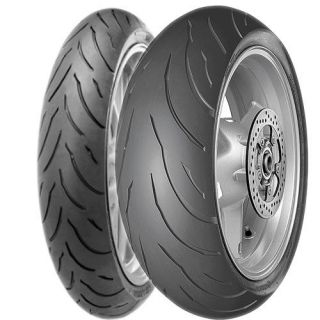New Continental Motion Front Rear Tires Set 120 180 17
