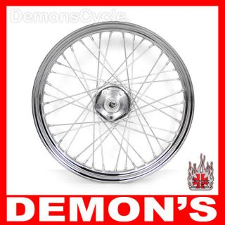 Dual Disc 40 Spoke Front Wheel Rim for Harley Dyna FXWG