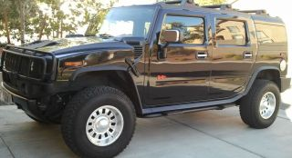 Hummer H2 Chrome Weld Racing Wheels BF Goodrich A T Tires
