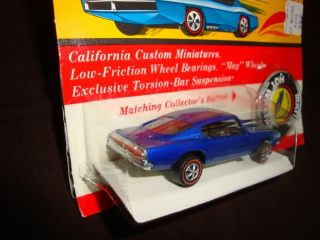 Hot Wheels REDLINE1967 Custom Barracuda Blue BP Blister Pack