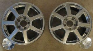 Cadillac cts 04 06 17 Polished Aluminum Wheels