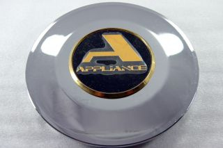 Brand New Chrome and Gold Appliance 165mm Center Cap