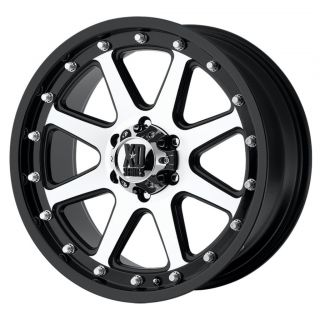 20 inch XD Addict Black Wheels 8x170 Ford F250 F350 18