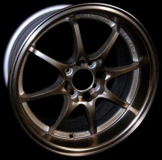 Konig FlatOut Rims Bronze 15x8 25 4x100 4x100 Civic Integra Miata XB