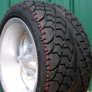 215 35R 12 Low Pro Radial Golf Cart Tires Wheels Rim