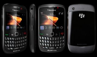 New Blackberry Curve 8530 Black Boost Mobile Smartphone