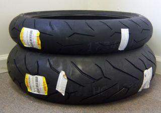 Pirelli Diablo Rosso Corsa Motorcycle Tires 190 Set