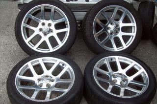 Dodge RAM 1500 Viper SRT10 SRT 10 Wheels Tires Mopar Genuine RARE Set