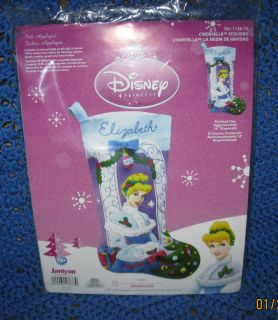 Disney Felt Applique Christmas Stocking Kit by Janlynn