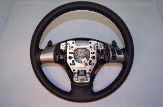 06 11 Corvette C6 Automatic Steering Wheel Blue Stitching