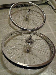 Elite BMX Racing 20 Wheel Set TI Driver Alienation Rims