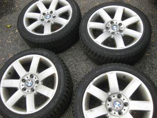 17 BMW 3 Series Wheels and Snow Tires Set 225 45 17 Nokian