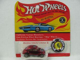 Hot Wheels Redline Custom Volkswagen Red BP