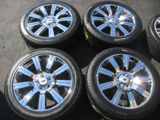 HSE Sport Stormer Chrome Wheels Tires Supercharged LR3 18 19 22
