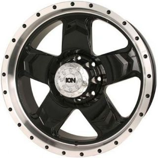 Dodge Dakota Durango RAM 20 ion 177 Wheels Rims Black