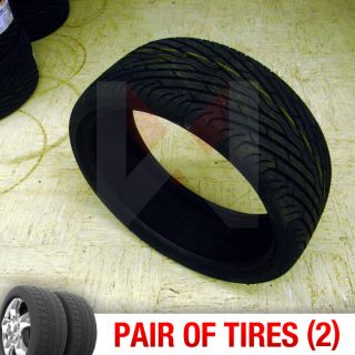 Set of 2 New 245 30R22 Durun Fone Two Tires 1 Pair 245 30 22 2453022